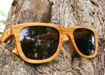 Sonnenbrille aus Holz Weitblick Olive